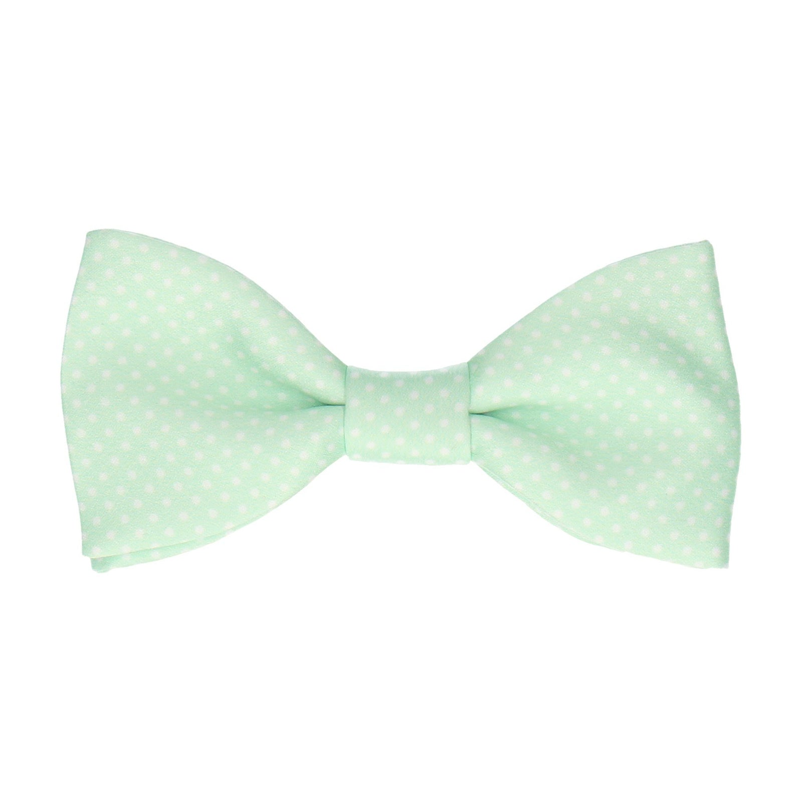Pin Dots Mint Green Bow Tie