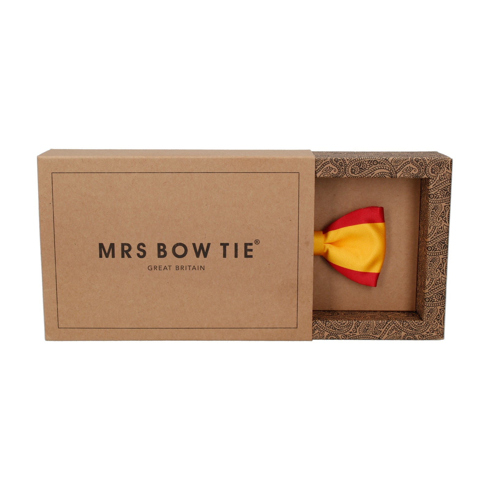 Spain Flag Bow Tie