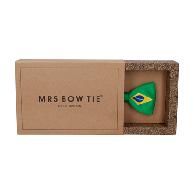 Flag of Brazil Bow Tie