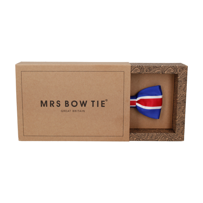 Flag of Iceland Bow Tie