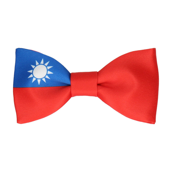 Flag of Taiwan Bow Tie - - bowties by Mrs Bow Tie