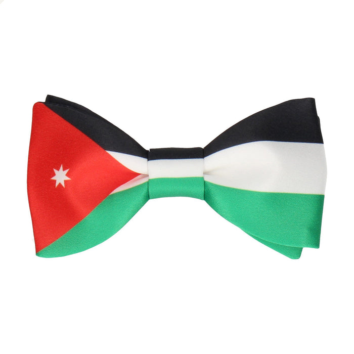 Flag of Jordan Bow Tie - - bowties by Mrs Bow Tie