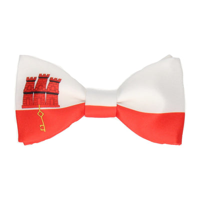 Flag of Gibraltar Bow Tie