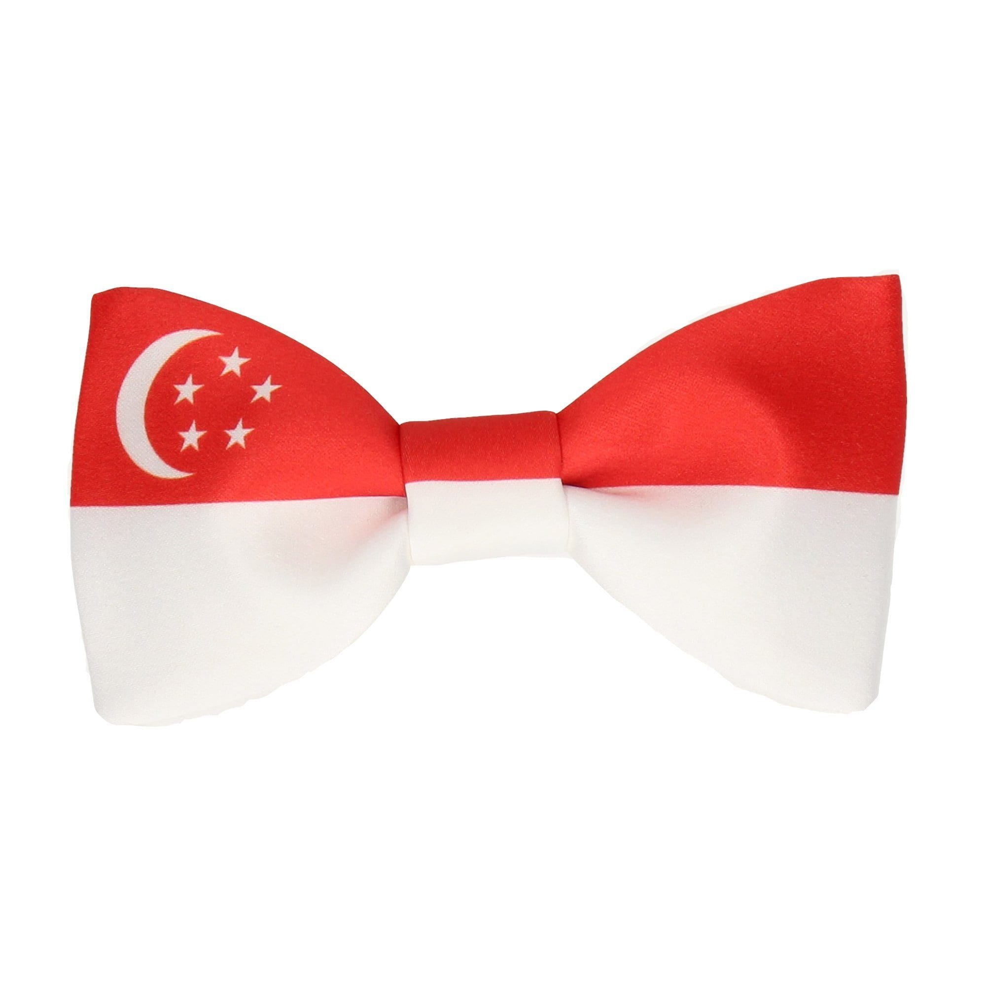 Flag of Singapore Bow Tie