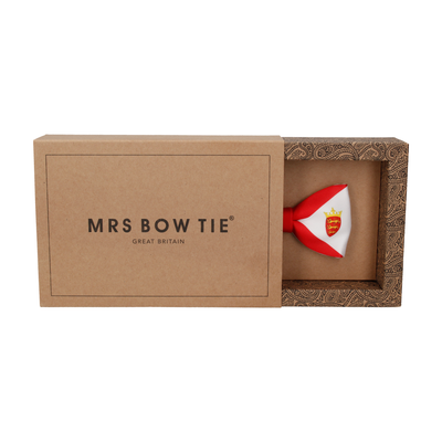 Flag of Jersey Bow Tie