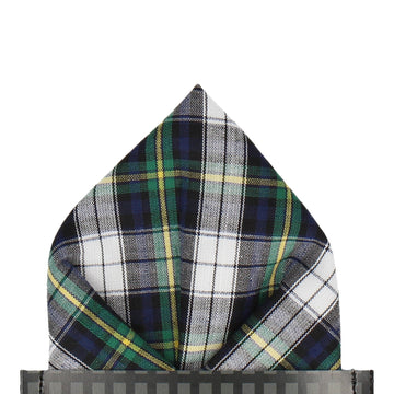 Gordon Dress Tartan Pocket Square