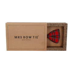 Tartan in Royal Stewart Bow Tie