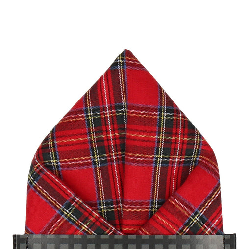 Tartan in Royal Stewart Pocket Square