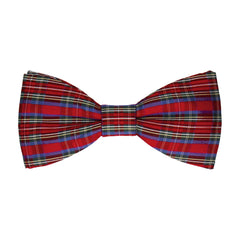 Tartan in Mini Stewart Royal Bow Tie