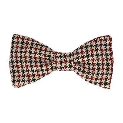 Galloway Wine Red Bow Tie