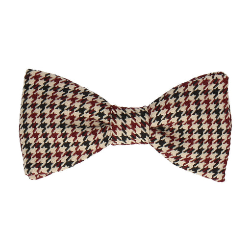 Galloway in Wine Bow Tie -Standard-Pre-Tie- - bowties by Mrs Bow Tie