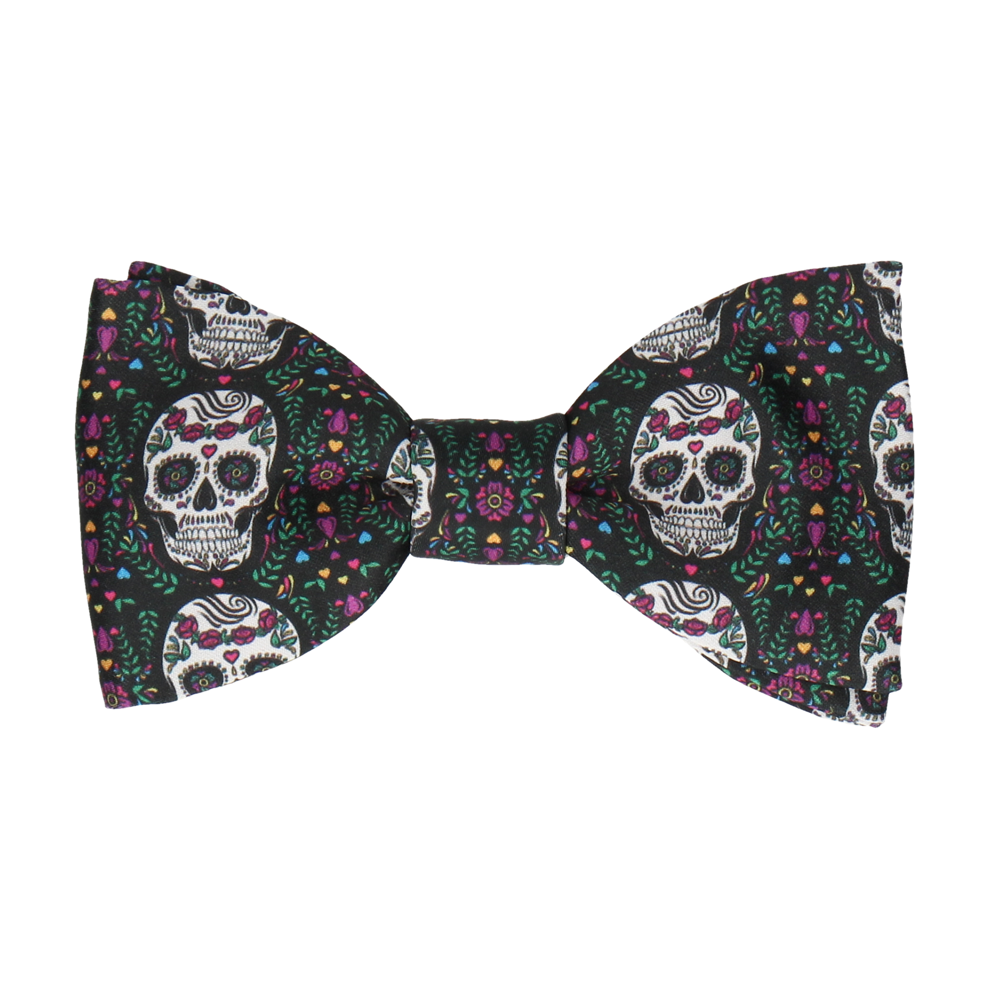 Sugar Skulls in Black Bow Tie