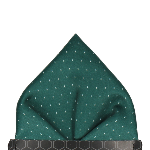 Montgomery in Green Pocket Square