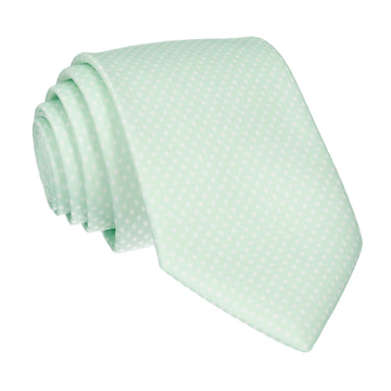 Pin Dots Mint Tie (Outlet)