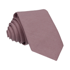 Brushed Linen in Lavender Tie
