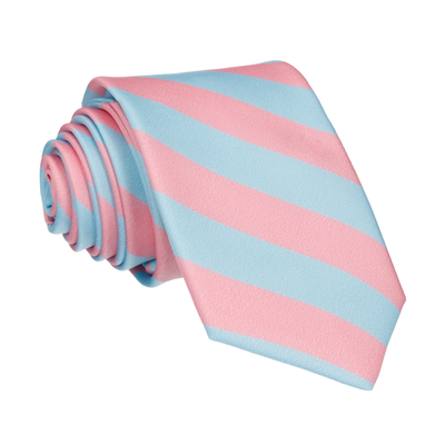 Alpha in Pink & Light Blue Tie
