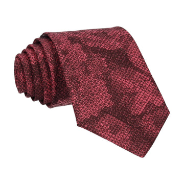 Red Anderson Liberty Cotton Tie