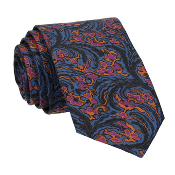 Dark Fantasy Pattern Locke Liberty Cotton Tie