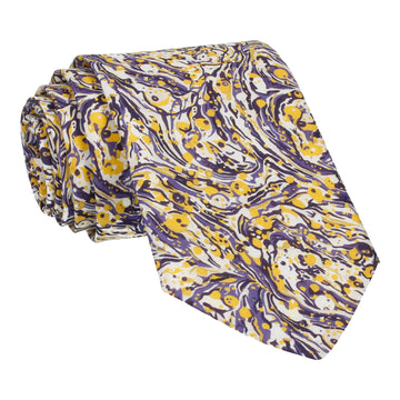 Saffron & Violet Liberty Cotton Tie
