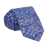 Indigo Pebbles Morris Liberty Cotton Tie