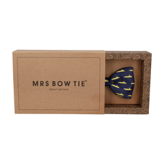 Yellow Submarines Navy Blue Bow Tie