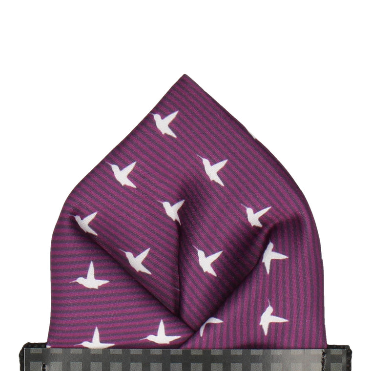Hummingbirds Pocket Square