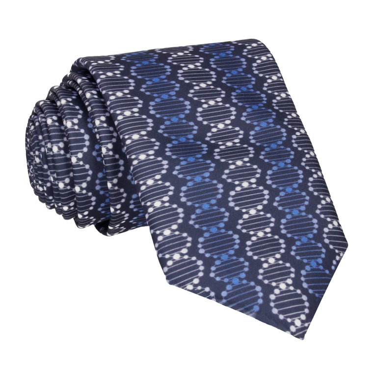 DNA in Blue Tie