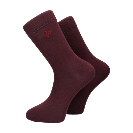 Oxbridge Socks in Damson