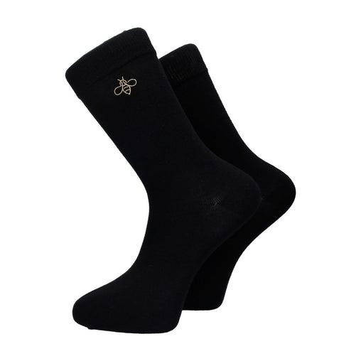 Oxbridge Socks in Black (Limited Edition)