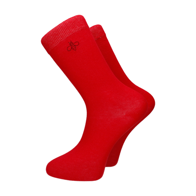 Oxbridge Socks in Red