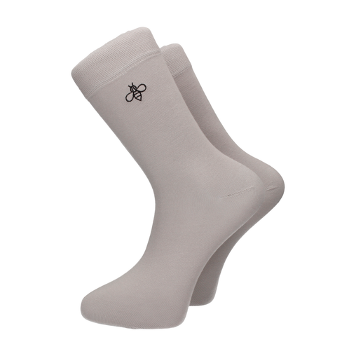 Oxbridge Socks in Dove Grey