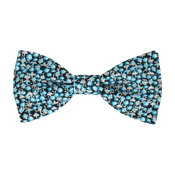 Blue Bellflowers Ditsy Floral Bow Tie