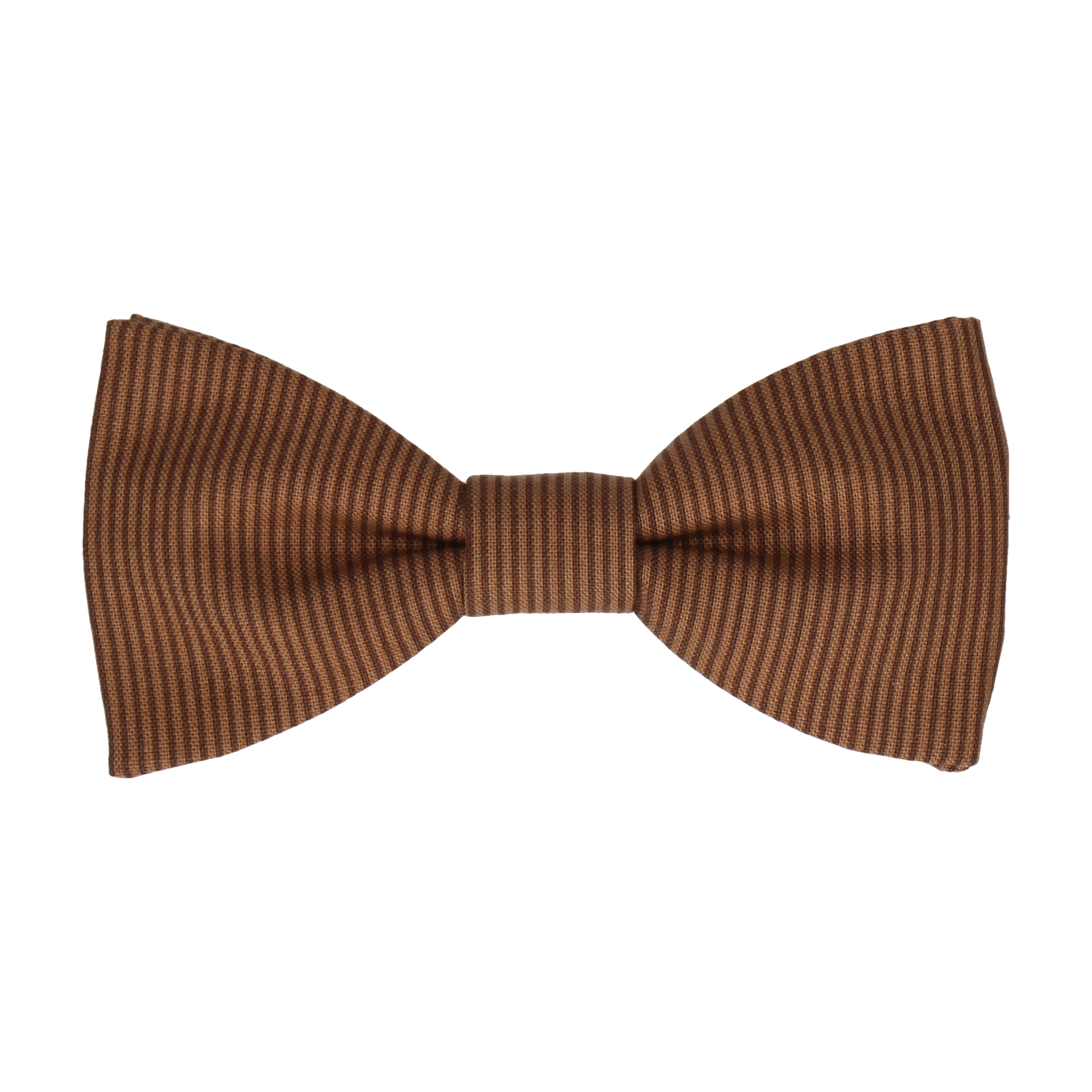 Winchester Stripe Brown Bow Tie