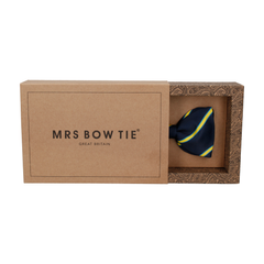 Doxford Navy Blue & Yellow Bow Tie