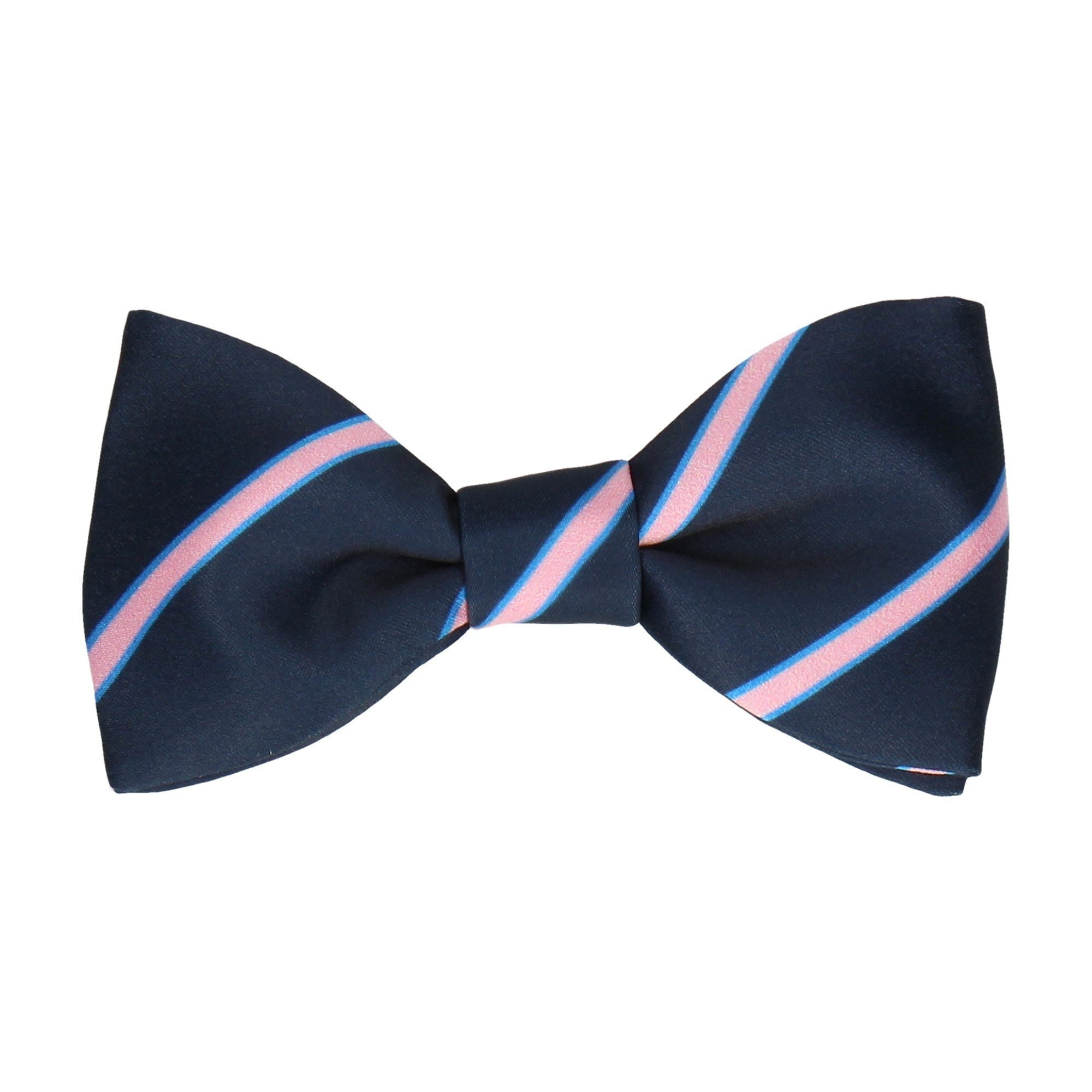 Doxford in Navy & Pink Bow Tie