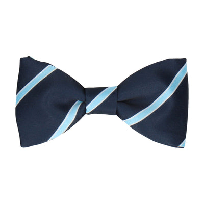 Doxford in Navy & Sky Blue Bow Tie