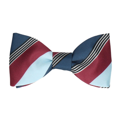 Consort in Blue Multi Bow Tie