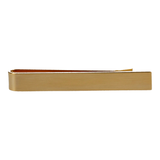 The Brush Gold Tie Slide