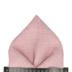 Isaac in Pale Pink Pocket Square