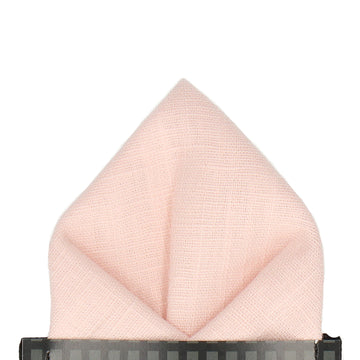 Logan in Pink Pocket Square