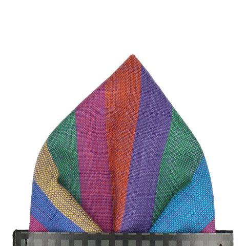 Brighton in Rainbow Pocket Square