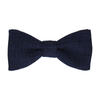 Isaac in Navy Blue Bow Tie