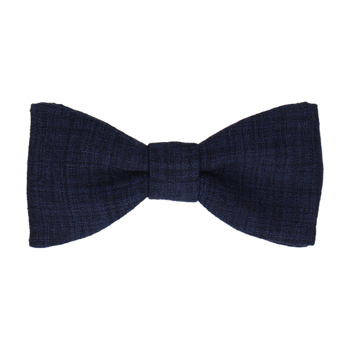 Isaac Navy Blue Bow Tie