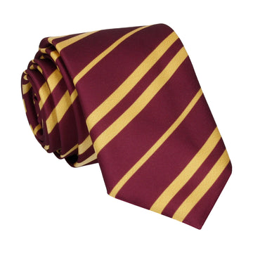Red & Gold Stripe House Tie