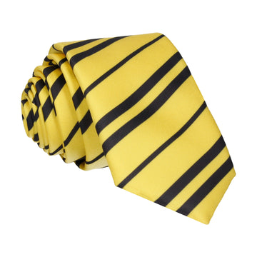 Yellow & Navy Blue Tie