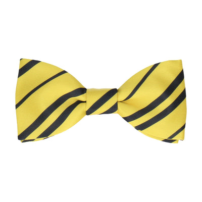 Yellow & Navy Blue Bow Tie