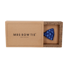 Police Box in Navy Bow Tie
