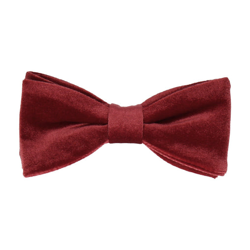 Velvet in Ruby Red Bow Tie
