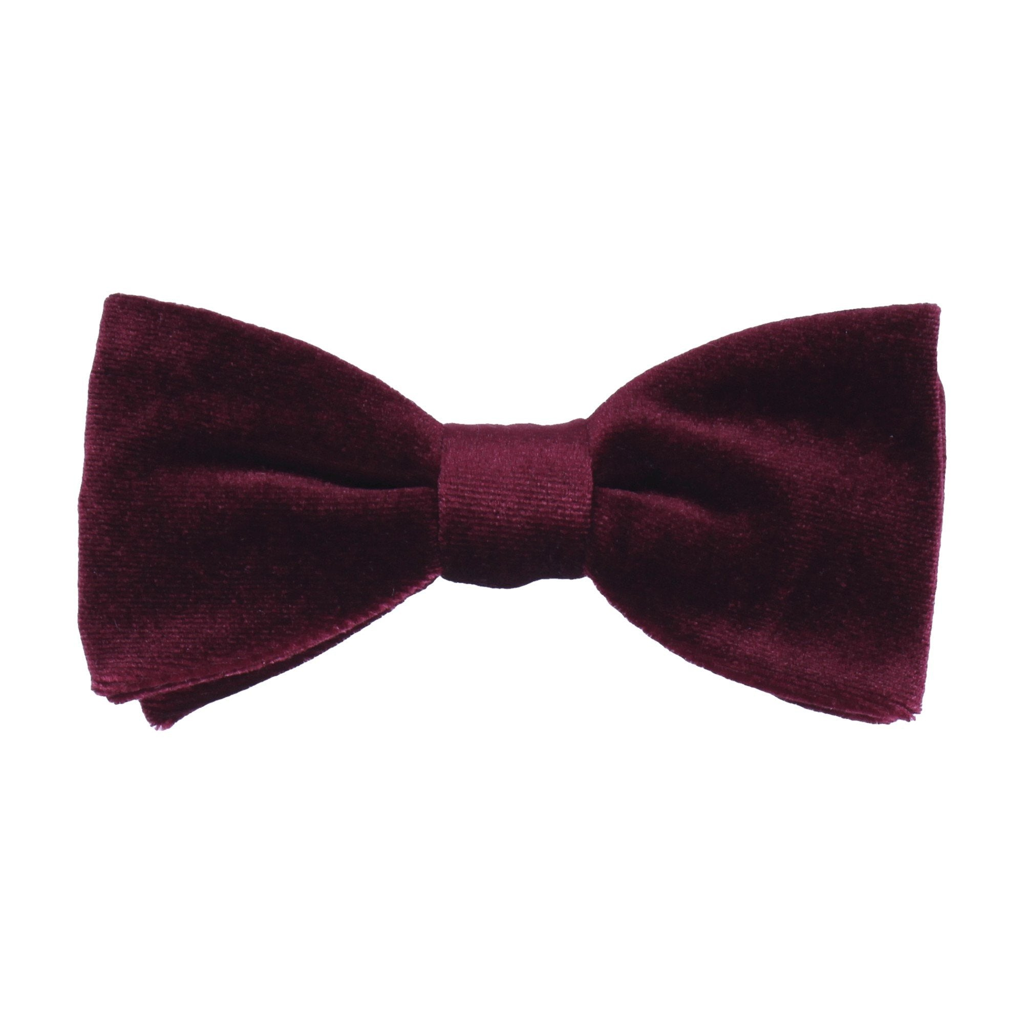Velvet in Wine Bow Tie