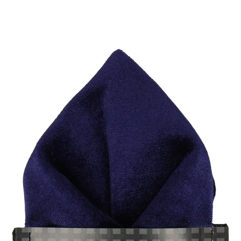 Velvet in Indigo Pocket Square
